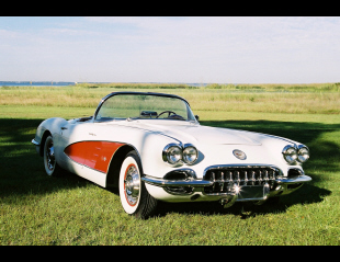 1960 CHEVROLET CORVETTE FUEL INJECTED CONVERTIBLE -  - 23489
