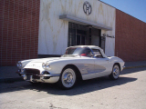 1961 CHEVROLET CORVETTE CONVERTIBLE -  - 23491