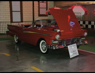 1957 FORD FAIRLANE 500 RETRACTABLE -  - 23499