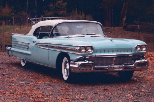 1958 OLDSMOBILE SUPER 88 CONVERTIBLE - Front 3/4 - 23502