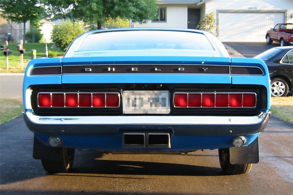 1969 SHELBY GT350 H FASTBACK - Rear 3/4 - 23507