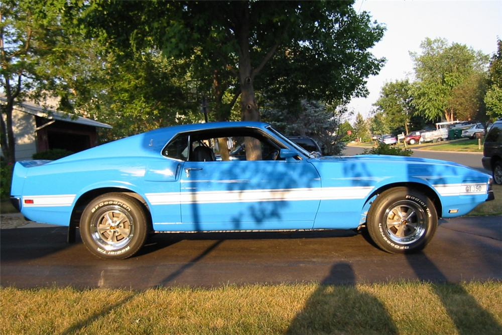 1969 SHELBY GT350 H FASTBACK - Side Profile - 23507