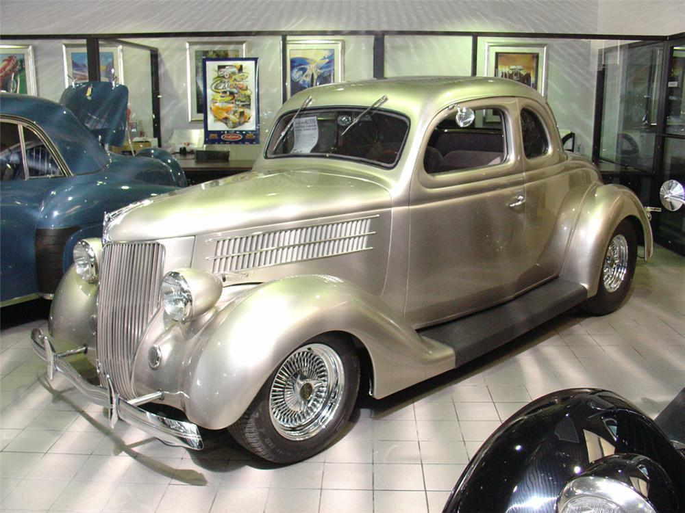 1936 ford 5 window coupe street rod 23513