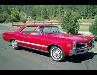 1966 PONTIAC LEMANS 2 DOOR HARDTOP -  - 23518