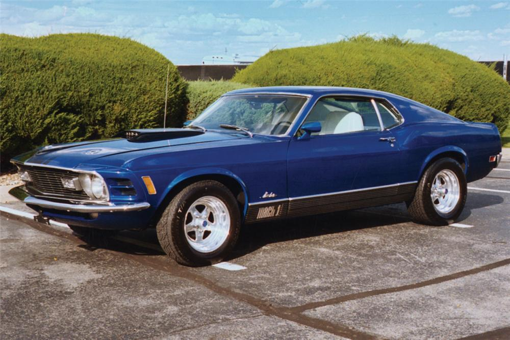 1970 FORD MUSTANG MACH 1 FASTBACK - Front 3/4 - 23519