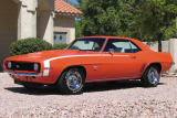 1969 CHEVROLET CAMARO SS 396 COUPE -  - 23520