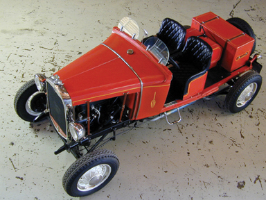 1930 FORD MODEL A HILLCLIMB RUNABOUT - Front 3/4 - 23522