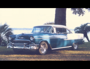 1955 CHEVROLET BEL AIR SPORT COUPE -  - 23543