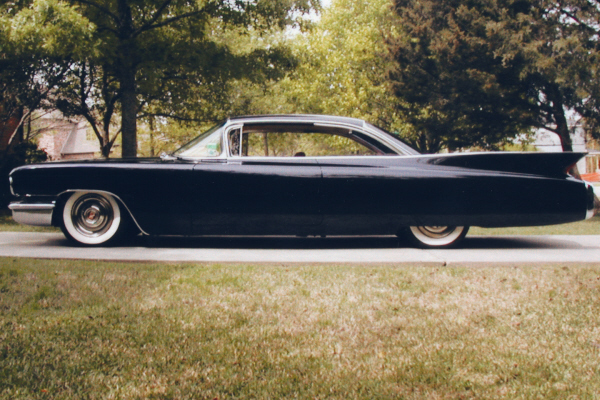 1960 Cadillac Coupe De Ville Custom 2 Door Hardtop