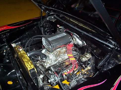 1956 CHEVROLET BEL AIR 210 HOT ROD - Engine - 23633