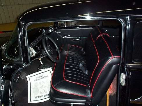 1956 CHEVROLET BEL AIR 210 HOT ROD - Interior - 23633