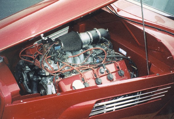 1933 FORD ROADSTER - Engine - 23647
