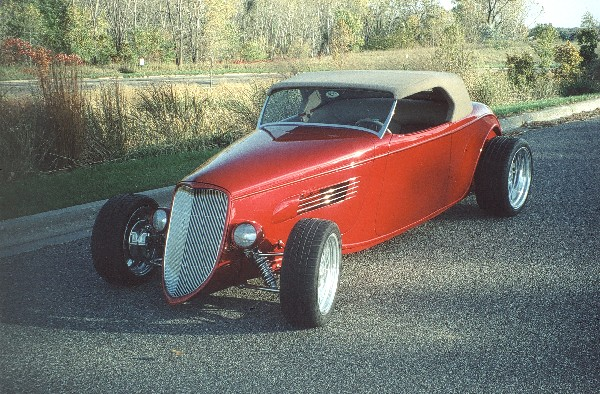 1933 FORD ROADSTER - Front 3/4 - 23647