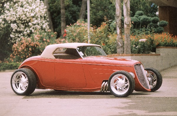 1933 FORD ROADSTER - Side Profile - 23647
