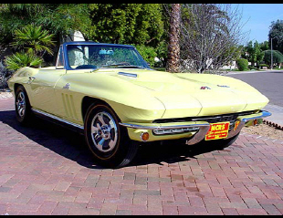 1966 CHEVROLET CORVETTE 427/425 CONVERTIBLE -  - 23684