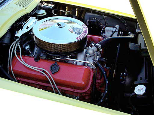 1966 CHEVROLET CORVETTE 427/425 CONVERTIBLE - Engine - 23684