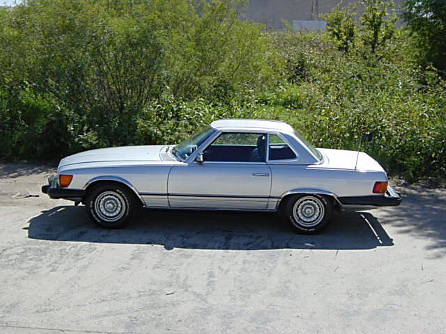 1976 mercedes benz 450sl convertible 23686
