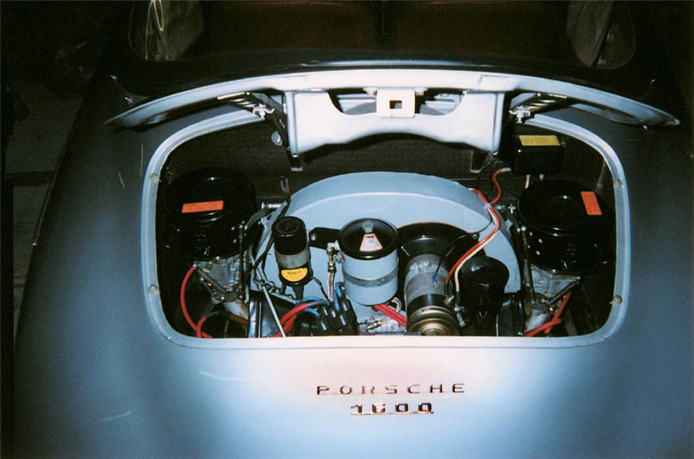 1959 PORSCHE 356 CONVERTIBLE - Engine - 23687