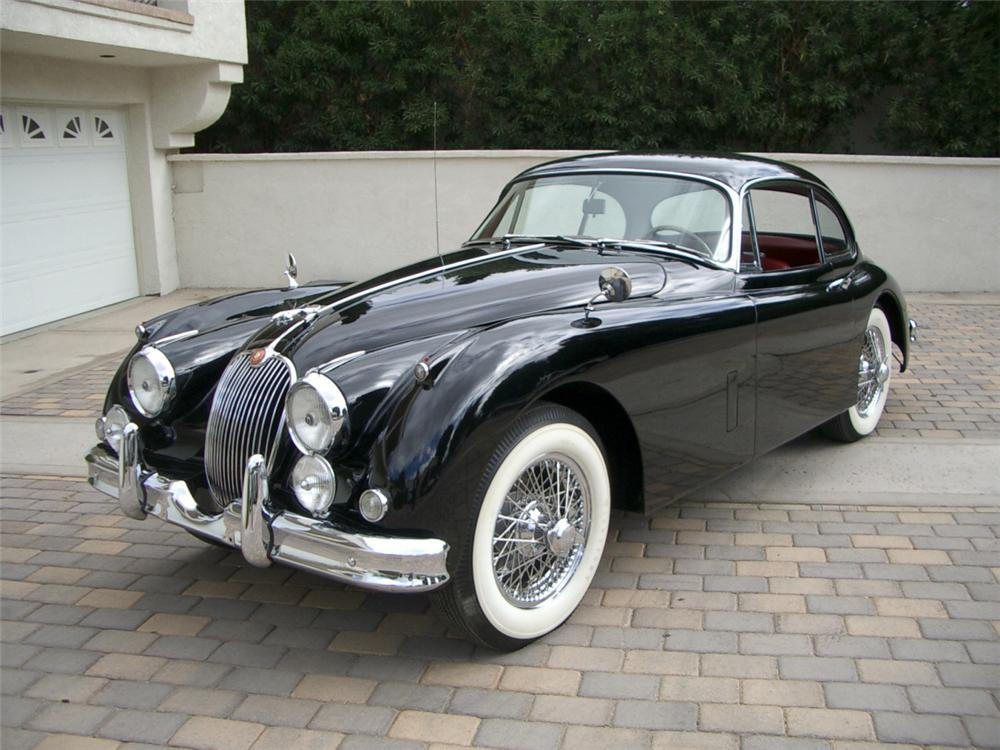 1960 JAGUAR XK 150 FIXED HEAD COUPE - Front 3/4 - 23688