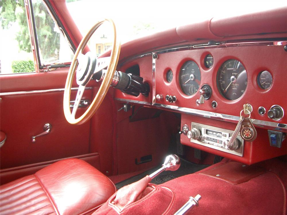 1960 JAGUAR XK 150 FIXED HEAD COUPE - Interior - 23688