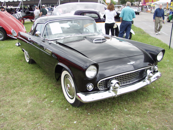 1956 FORD THUNDERBIRD CONVERTIBLE - Front 3/4 - 23696