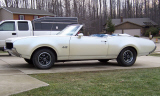 1969 OLDSMOBILE CUTLASS CONVERTIBLE -  - 23698