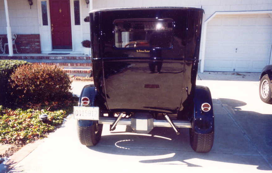1927 FORD MODEL T 2 DOOR HOT ROD - Rear 3/4 - 23705