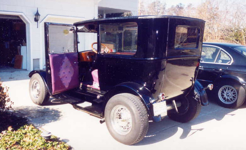 1927 FORD MODEL T 2 DOOR HOT ROD - Side Profile - 23705