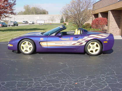 1998 CHEVROLET CORVETTE INDIANAPOLIS 500 PACE CAR FROM G - Front 3/4 - 23707
