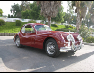 1957 JAGUAR XK 140 FIXED HEAD COUPE -  - 23709