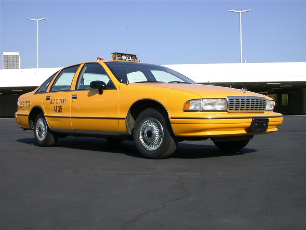 "1993 CHEVROLET CAPRICE TAXICAB ""SEINFELD"" TV SERIES - Side Profile - 23713"