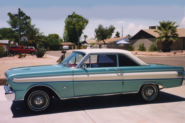 ... 1964 FORD FALCON FUTURA 2 DOOR HARDTOP - Side Profile - 23714 ... & 1964 FORD FALCON FUTURA 2 DOOR HARDTOP - 23714