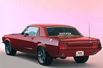 1967 FORD MUSTANG TRANS AM RESTO-MOD RE-CREATION - Rear 3/4 - 23719
