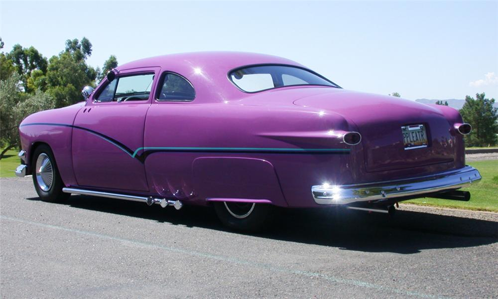 1951 FORD DELUXE CUSTOM BUSINESS COUPE - Rear 3/4 - 23800