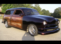 1951 FORD CUSTOM 2 DOOR WOODY WAGON -  - 23804