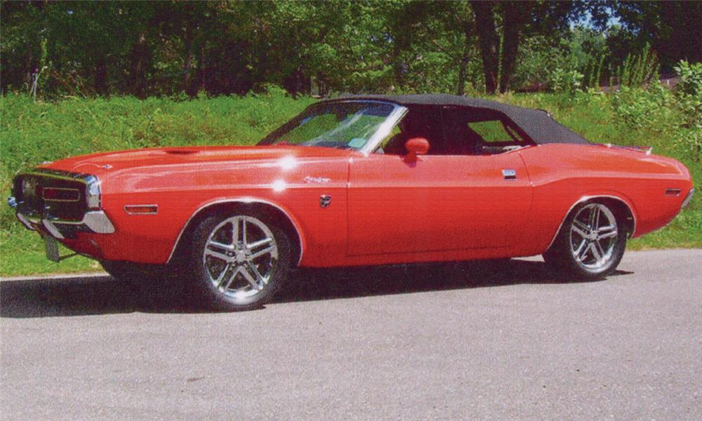 1971 DODGE CHALLENGER VIPER POWERED CONVERTIBLE - Front 3/4 - 23808