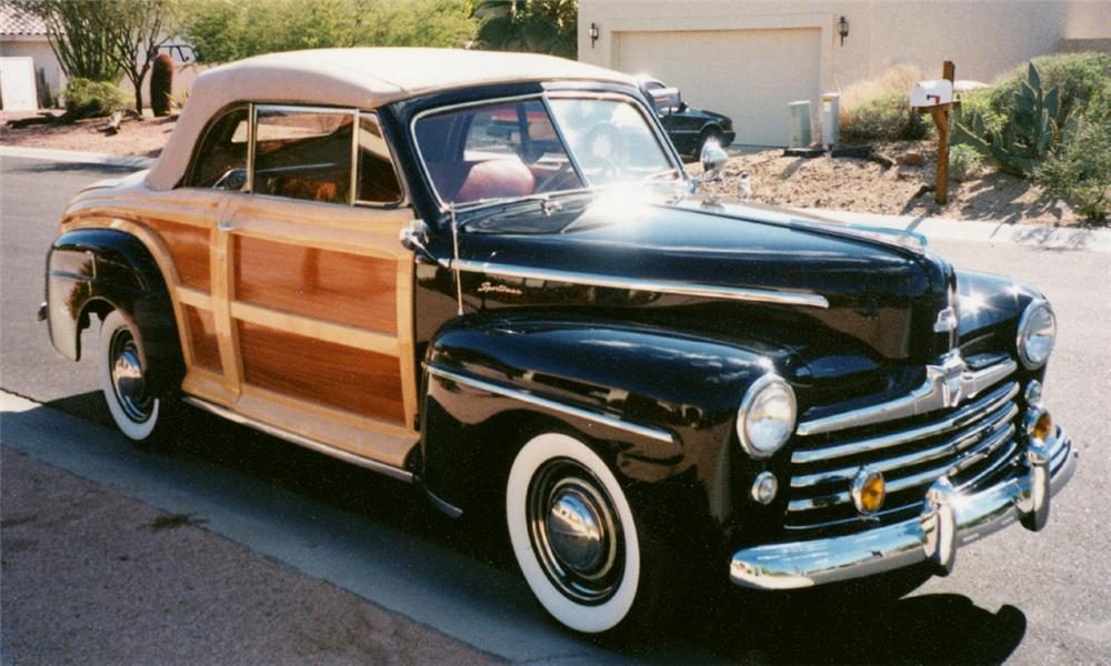 1947 FORD SPORTSMAN CONVERTIBLE - Side Profile - 23816