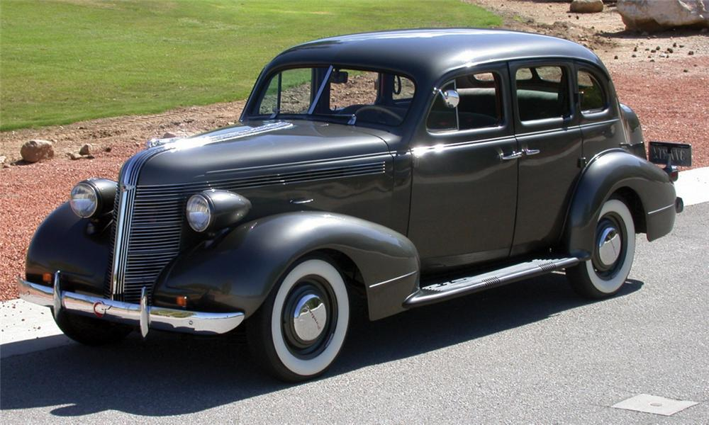 1937 pontiac deluxe 4 door sedan 23820