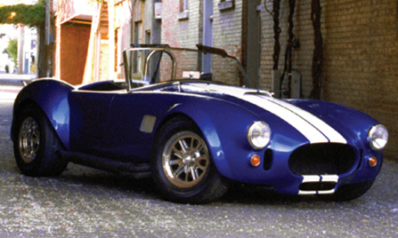 1966 SHELBY COBRA RE-CREATION - Front 3/4 - 23822