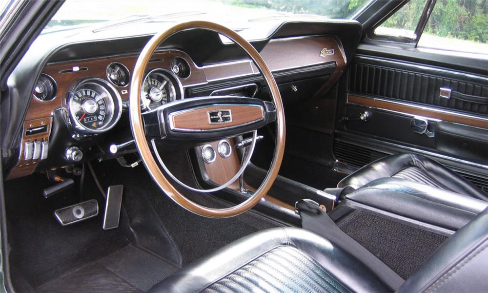 1968 SHELBY GT500 CONVERTIBLE - Interior - 23825