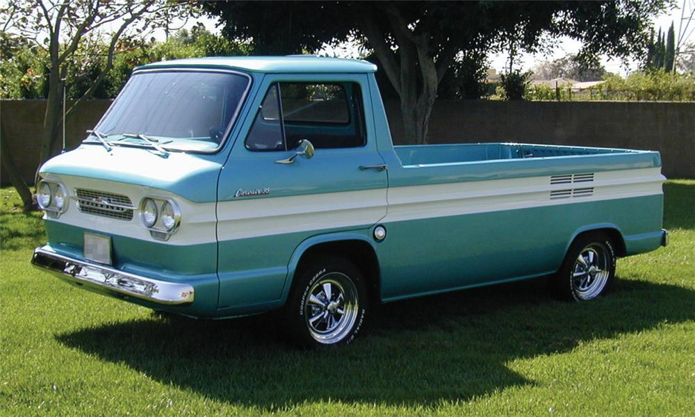 1961 Chevrolet Corvair Custom Sideload Pickup 23827