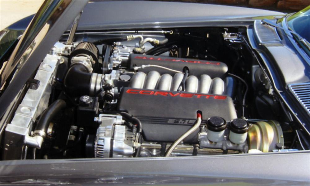 1965 CHEVROLET CORVETTE CUSTOM CONVERTIBLE - Engine - 23829