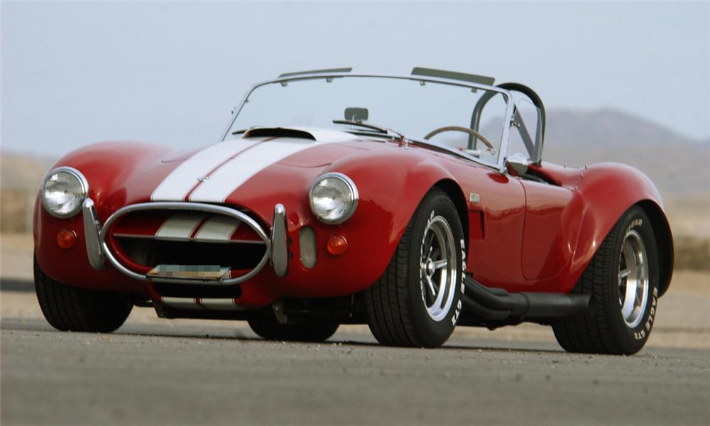1966 SHELBY COBRA ROADSTER - Front 3/4 - 23834