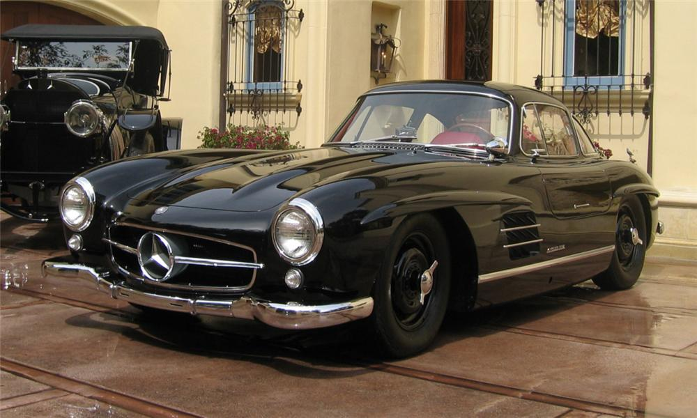 1956 mercedes benz 300sl gullwing coupe 23839. Black Bedroom Furniture Sets. Home Design Ideas