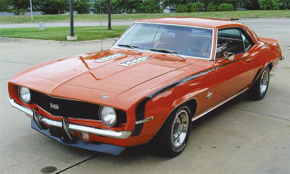 1969 CHEVROLET CAMARO SS COUPE - Front 3/4 - 23863