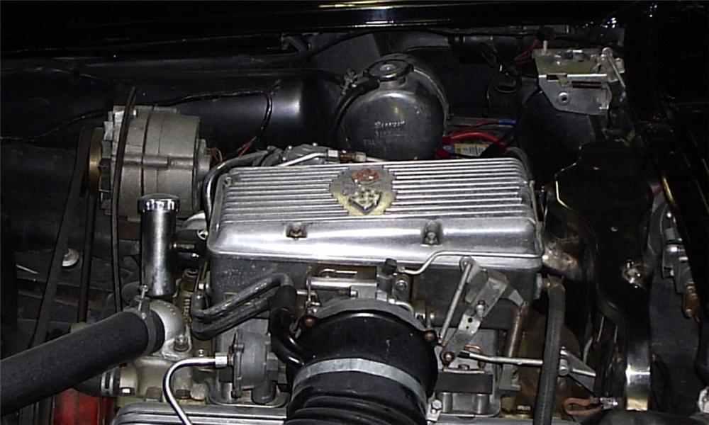 1963 CHEVROLET CORVETTE FI CONVERTIBLE - Engine - 23881
