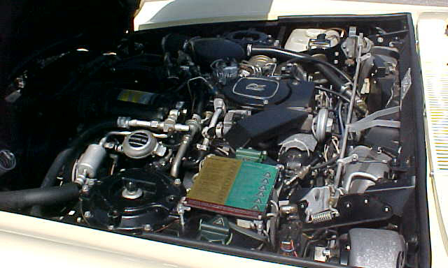 1987 ROLLS-ROYCE CORNICHE II CONVERTIBLE - Engine - 23902
