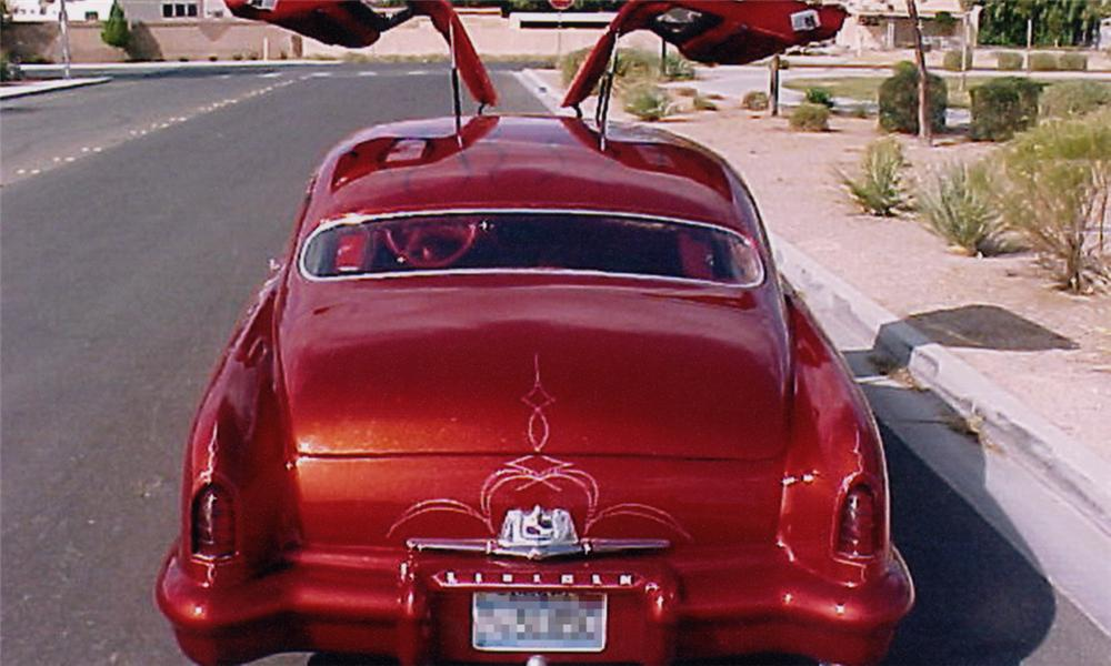 1951 LINCOLN COSMOPOLITAN CUSTOM 2 DOOR GULLWING - Rear 3/4 - 23912
