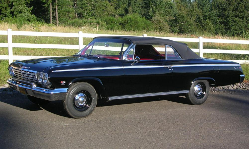 1962 CHEVROLET IMPALA SS CONVERTIBLE - Front 3/4 - 23926