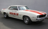 1969 CHEVROLET CAMARO RS/SS INDY PACE CAR CONVERTIBLE -  - 23927
